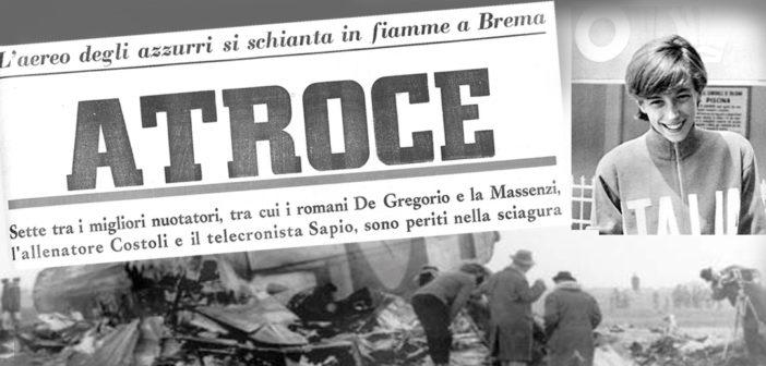 """CARMEN LONGO – Una vita spezzata nella """"Superga"""" del nuoto italiano"""