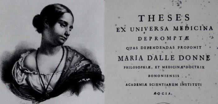 MARIA NANNI DALLE DONNE: la Laura Bassi dell'Appennino