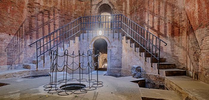 BAGNI DI MARIO: la cisterna che porta l'acqua al Nettuno